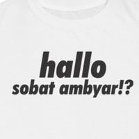 Jual Sk T Shirt Sobat Ambyar Putih Xxxl Kota Malang Skcloth