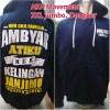 Jual Jaket Aka Ambyar Atiku Navy Kab Grobogan Hendra Clothing