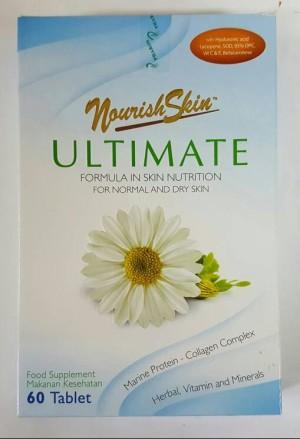 Jual Nourish Skin Ultimate isi 60 tablet - toko bintang ...