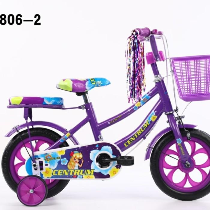 Jual Sepeda mini anak perempuan 12 inch Morison Ban busa ...
