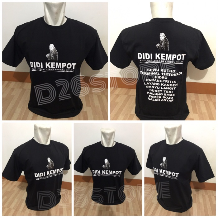 Jual Kaos Didi Kempot The Godfather Of Broken Heart Sobat Ambyar
