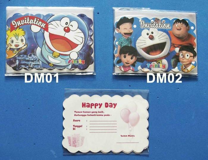 Jual Kartu Undangan Ulang Tahun Doraemon Kota Makassar New Erack