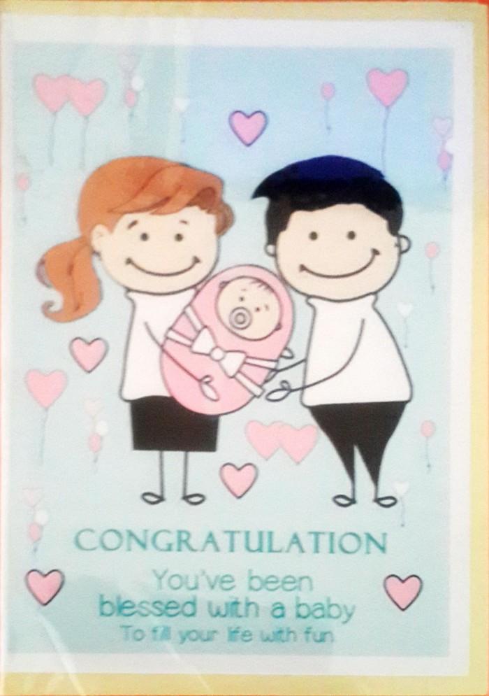 Jual Kartu Ucapan Tema Kelahiran Bayi Jakarta Barat T Web Store Tokopedia
