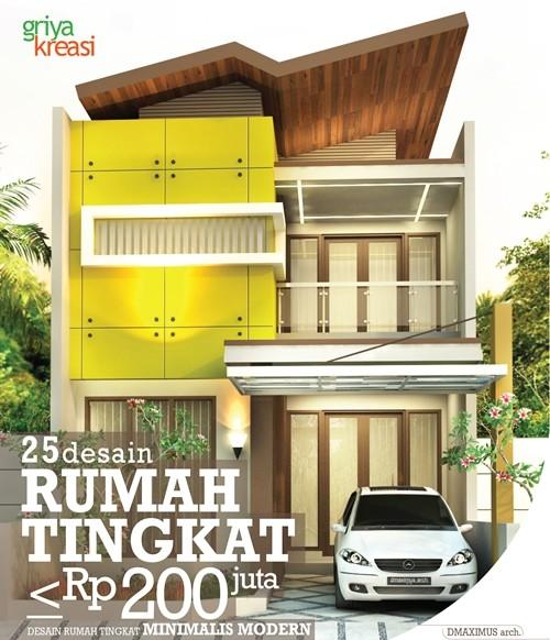 Jual 25 Desain Rumah Tingkat Rp 200 Juta Griya Kresi Arsitektur