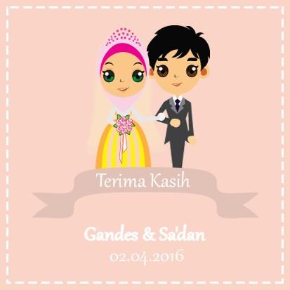 Kartu Ucapan Pernikahan Yapis Sticken Co