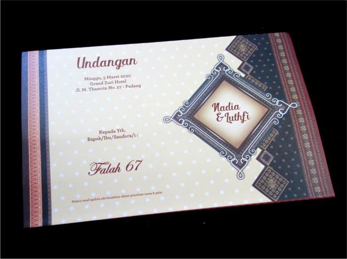Jual Blanko Kartu Undangan Pernikahan Falah 67 Dki Jakarta Toko