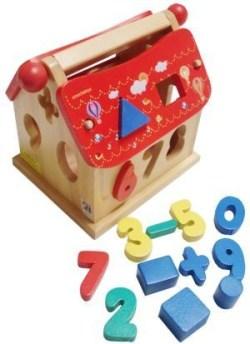 Jual Rumah Angka Omocha Mainan Anak Edukasi Mainan Edukatif