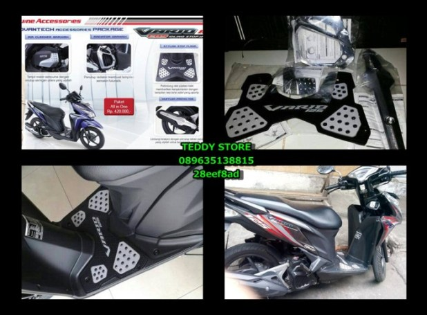 Aksesoris Honda Vario Techno 125 Pgm Fi Cbs Resmi Original Ahm