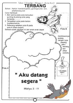 Jual Buku Kurikulum Sekolah Minggu Tahun 3 Triwulan 1 Jakarta