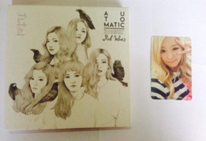 Jual Red Velvet Ice Cream Cake Automatic Version Seulgi