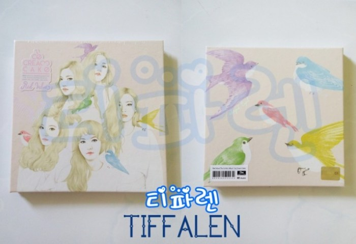 Jual Red Velvet Ice Cream Cake Album Irene Photocard Tiffalen