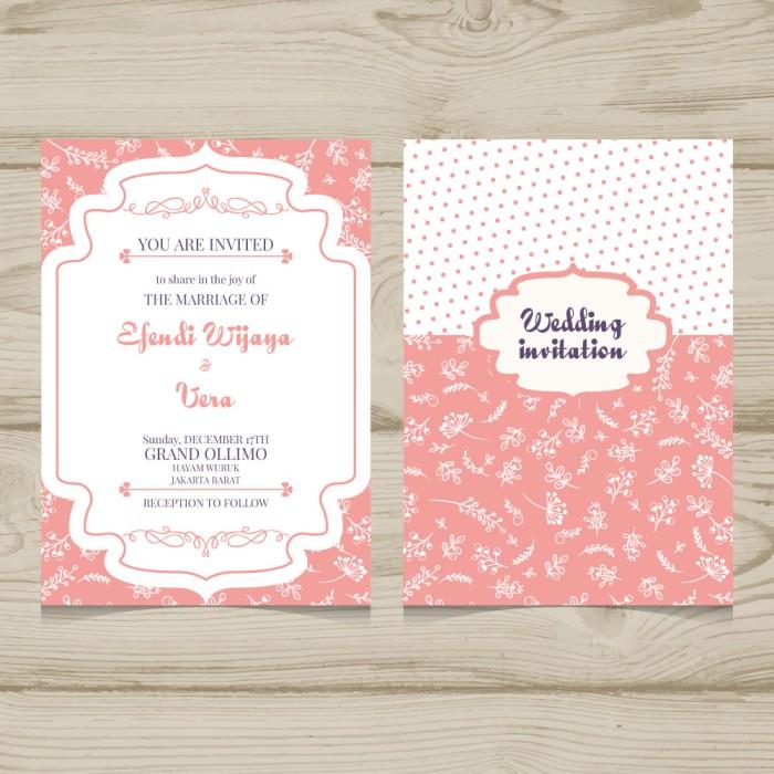 Jual Kartu Undangan Pernikahan Pesta Ulang Tahun Kawin Ucapan Dki