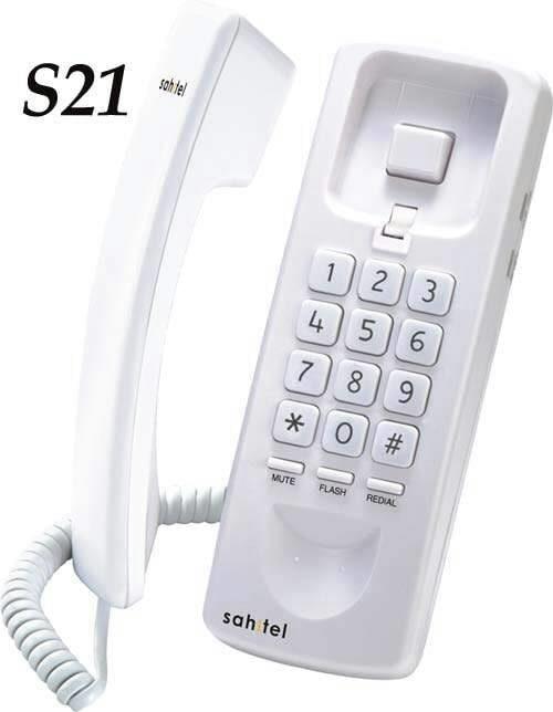 Jual Telepon Rumah Pesawat Telepon Kabel Gantung Sahitel S21 Putih