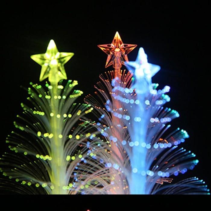 Jual Christmas Tree Light Mini Color Changing Led Optic Lights Xmas Tree Kota Tangerang Toben Tokopedia