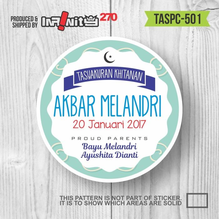 Jual Stiker Label Anak Khitanan Kotak Souvenir Sticker Syukuran