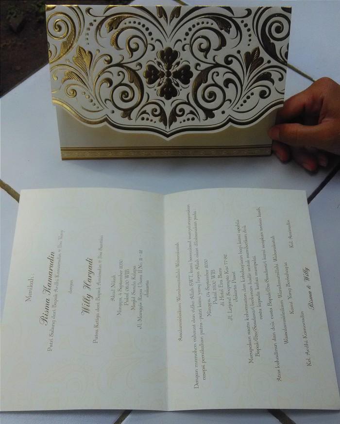 Jual Surat Undangan Pernikahan Termasuk Cetak Tulisan Dan Plastik