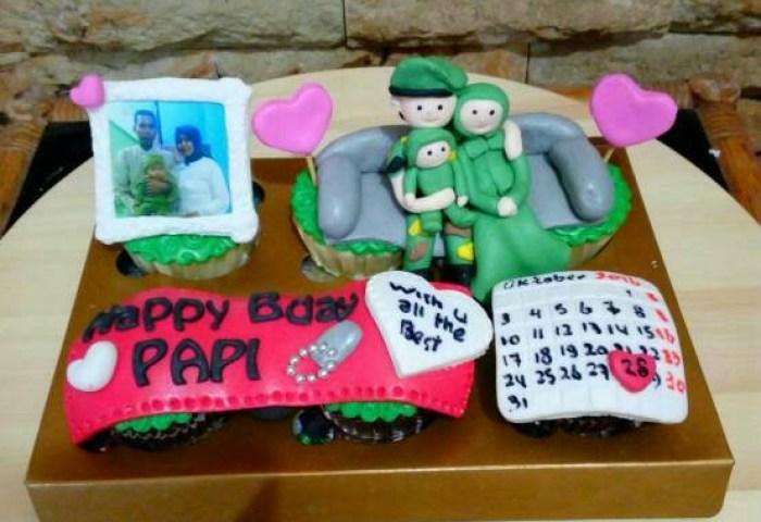 Jual Cupcake Tentara Bday Cake Tni Kado Unik Kota Bandung