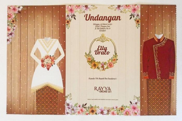 Jual Undangan Pernikahan Jawa Mewah Dan Tradisional Rayya 321 Kota