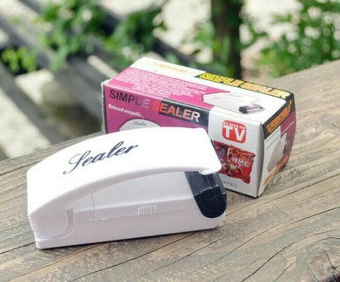 Jual Perekat Pres Plastik Impulse Sealer Portable Alat Segel Lem ...