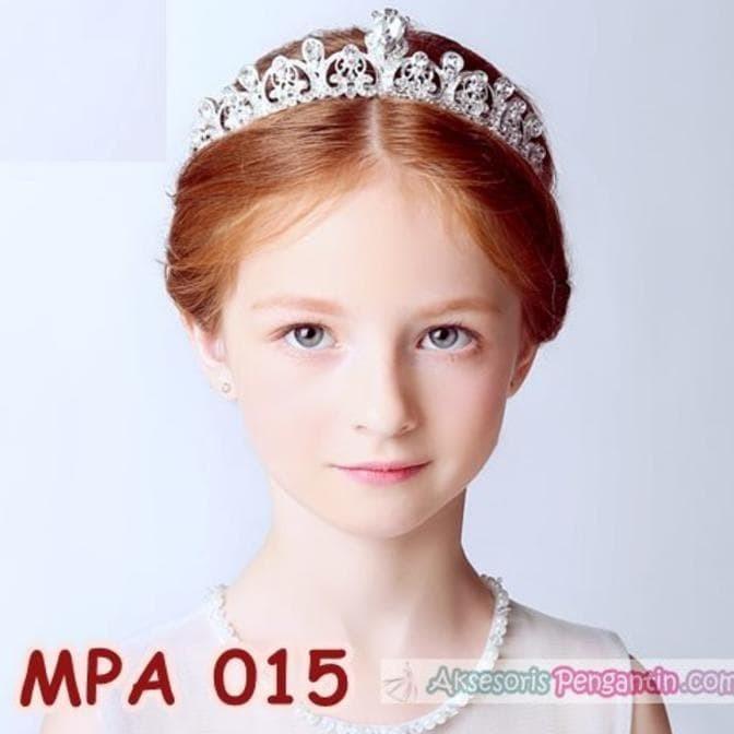 Jual Aksesories Crown Mahkota Pesta Anak Modern L Aksesoris Rambut
