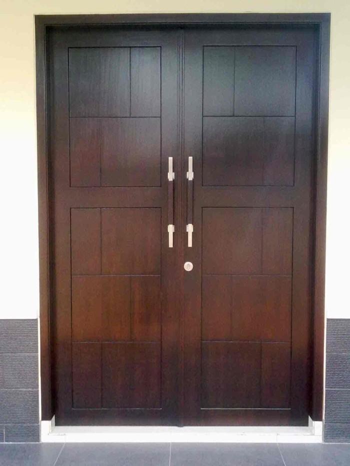 Jual Pintu Rumah Minimalis Modern Terbaru Mebel Luqman Jaya