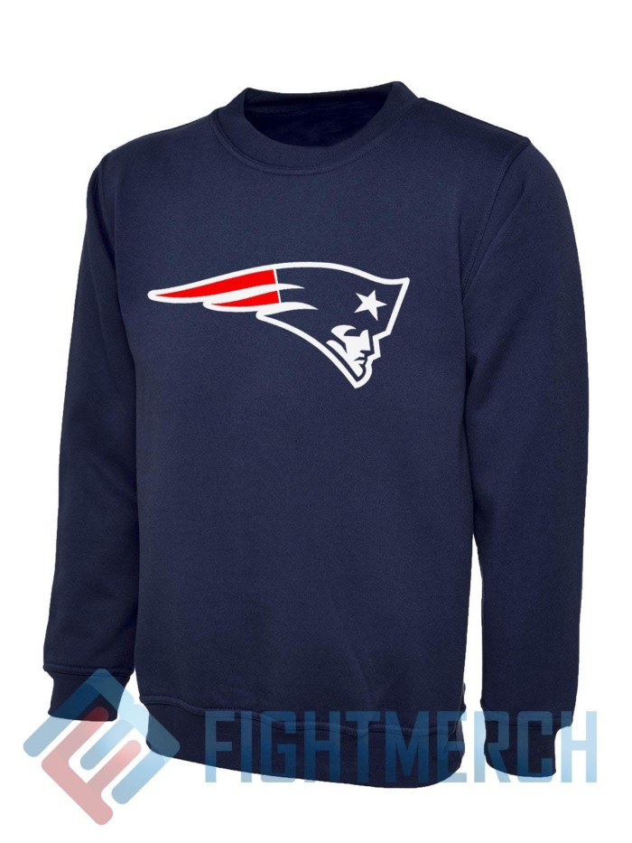 Jual Sweater New England Patriots Logo Fightmerch Kota Bandung Fight Merch Tokopedia