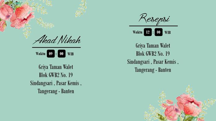 Jual Undangan Pernikahan Online Video Invitation Dki Jakarta