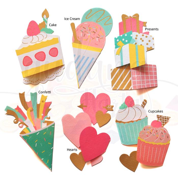 Jual Kartu Ucapan Ulang Tahun Valentine Lucu Unik Gh 305105 Hearts