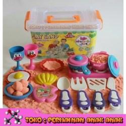 Jual Pasir Kinetik 1kg Play Magic Sand Cooking Set Pasir Ajaib