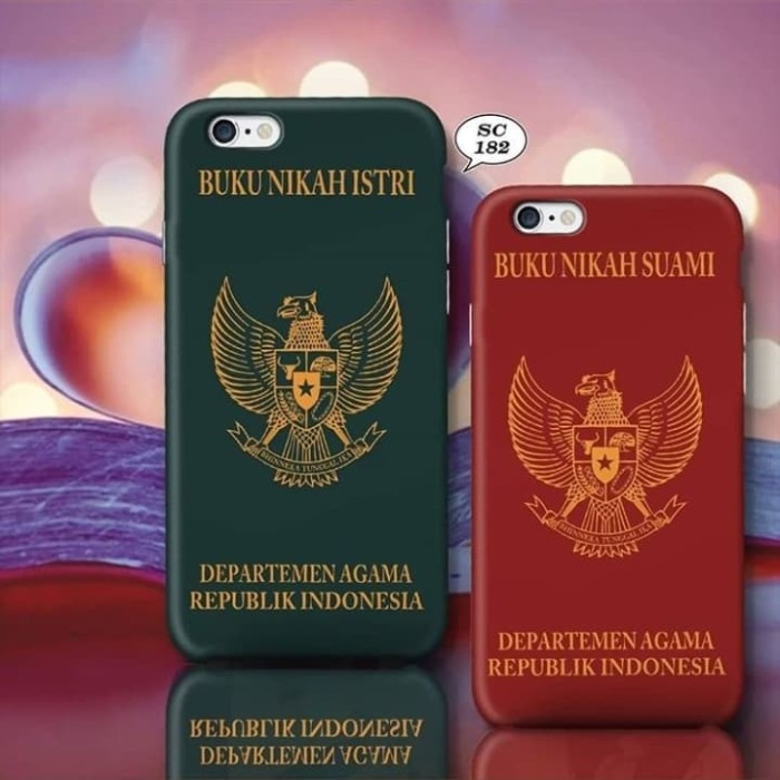 Jual Hardcase Buku Nikah Couple H0040 Kota Bandung Melyas Shop