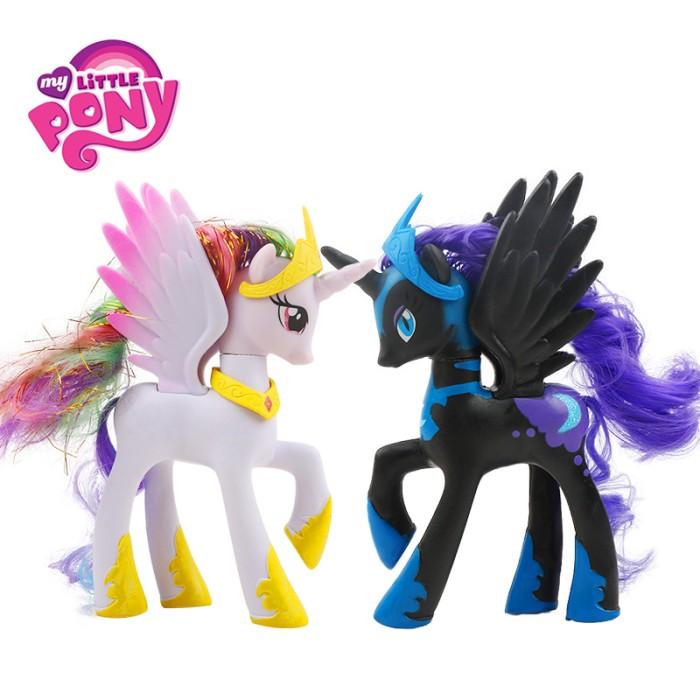 Jual Murah 14cm Hasbro My Little Pony Princess Luna Celestia Twilight Kota Surakarta Gabriz Tokopedia
