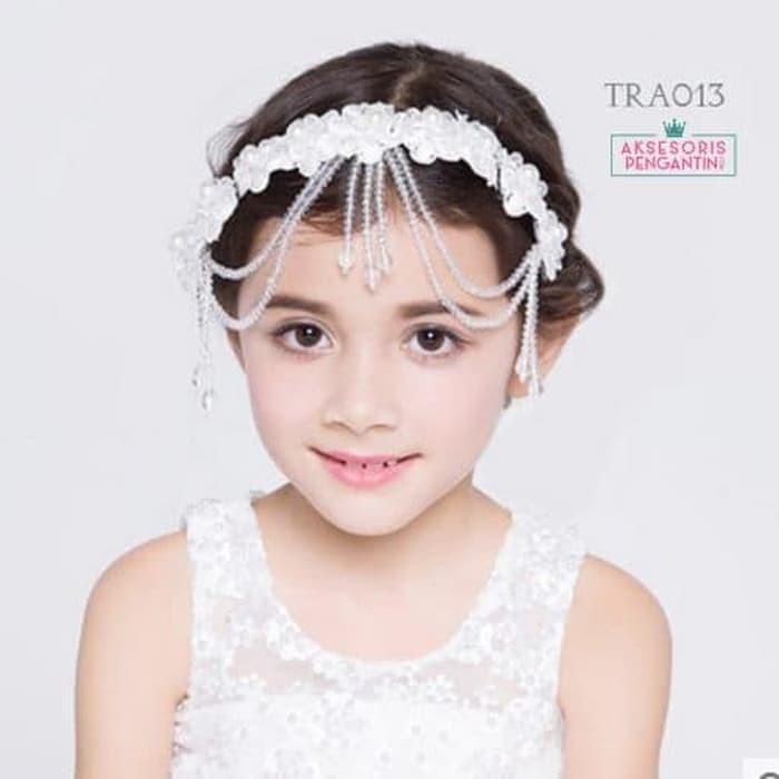 Jual Aksesoris Tiara Rambut Lace Pesta L Crown Sanggul Anak Modern