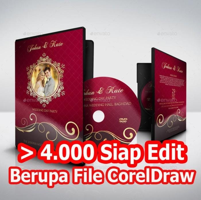 Jual Template Desain Undangan Pernikahan Khitanan Dll Siap Edit