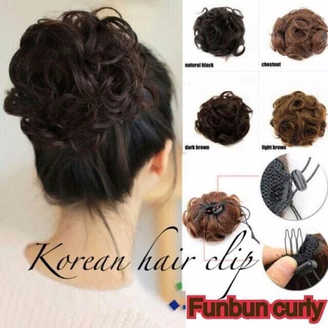 Jual Promo Funbun Curly Sanggul Modern Termurah Himoal Tokopedia