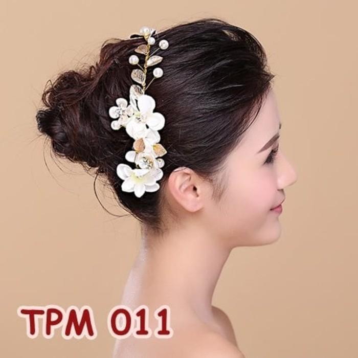 Jual Tiara Sanggul Bridal Modern Aksesoris Rambut Pengantin Tpm