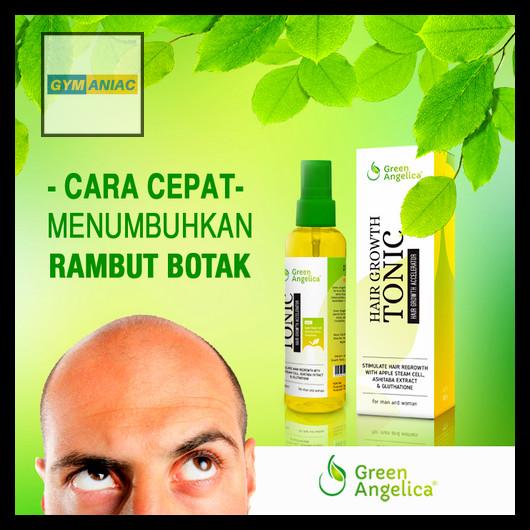 Hair Tonic Green Angelica Growth Serum Obat Penumbuh Rambut Pria Botak