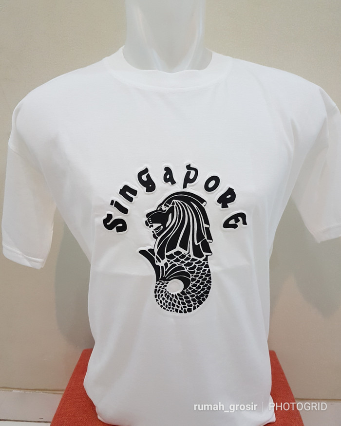 Jual Kaos Souvenir Singapore Dki Jakarta My Online Shops Tokopedia