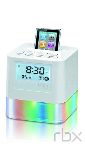Fm Radio Mp3 Player Alarm Clock Dock