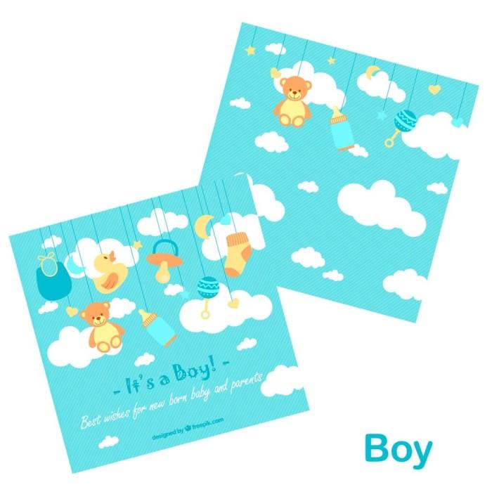 Jual Kartu Ucapan Kelahiran Bayi Gift Card Greeting Card