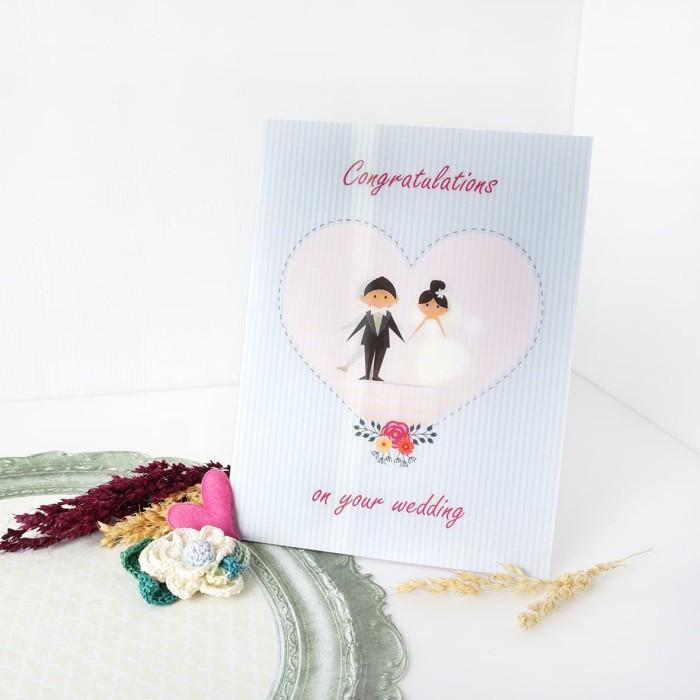 Jual Wedding 3d Card Congratulations 3d Card Kartu Ucapan