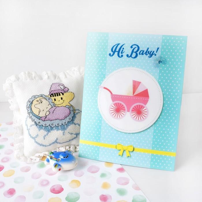 Jual Baby 3d Card New Born 3d Card Kartu Ucapan Bayi Lahir 2