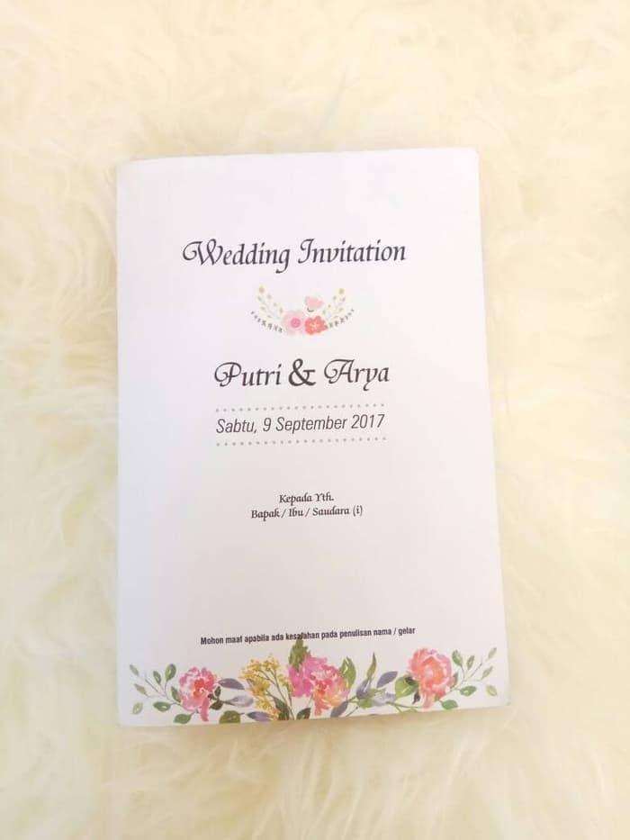 Jual Undangan Pernikahan Lucu Murah Proses Cepat Gratis Kartu Ucapan Kota Administrasi Jakarta Barat Ddimasshop Tokopedia
