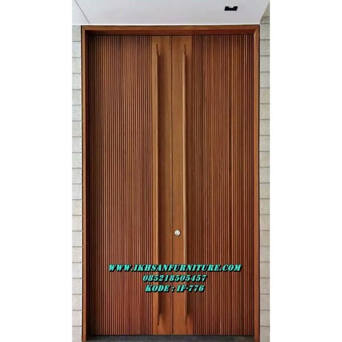 Jual Pintu Rumah Minimalis Modern Terbaru Model Salur Kab Jepara