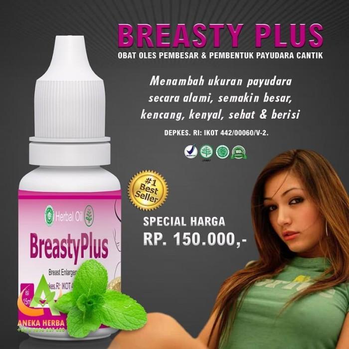 Jamu Pembesar Payudara Permanen Breasty Plus Kenyal Montok Y