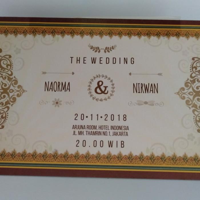 Jual Undangan Pernikahan Murah Poly Emas Js 14 Dki Jakarta