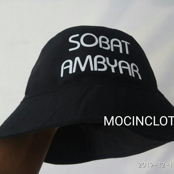 Jual Topi Bucket Sobat Ambyar Fayzacloth F9 Jakarta Timur