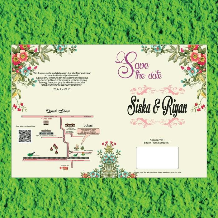 Jual Undangan Pernikahan Unik Imut Murah Dki Jakarta Dkas Shop