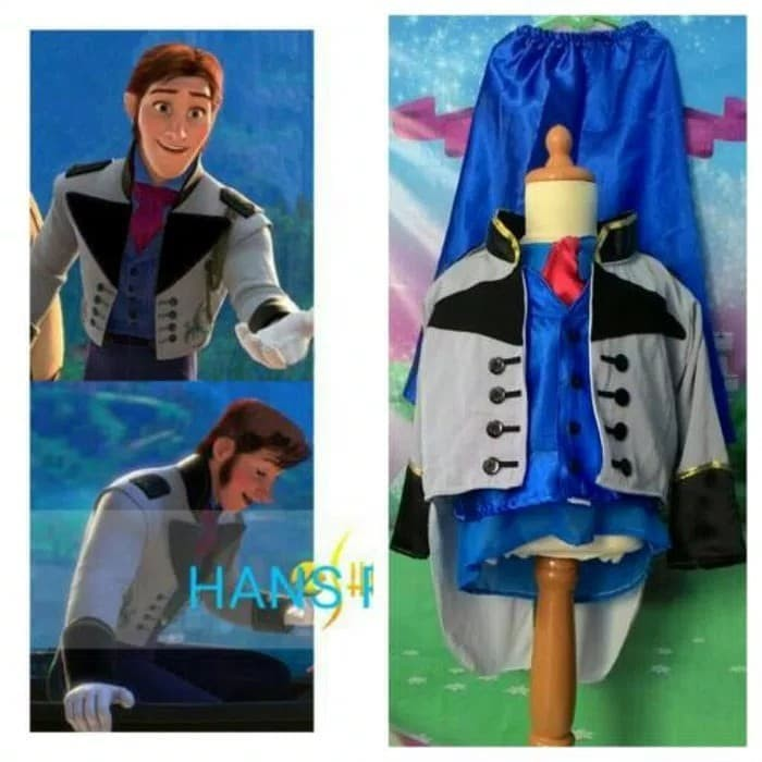 Jual Kostum Anak Karakter Disney Prince Pangeran Hans Frozen 2 3 Tahun Jakarta Selatan Dheefira Kids Olshop Tokopedia