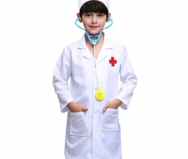 Jual Baju Dokter Kecil Anak Perempuan Laki Laki Set Stetoskop