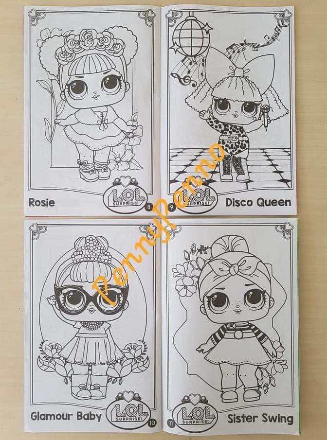 Jual Buku Mewarnai Lol Coloring Book Uk 24 Cm X15 5cm Jakarta Pusat Meriapriyani Tokopedia